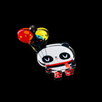 Clear Acrylic – Panda