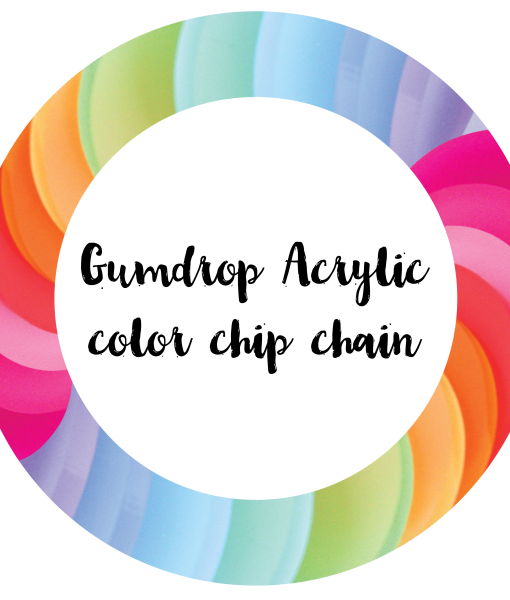 ink it labs samples gumdrop color chip chain